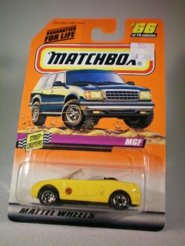1997 Series 10 Street Cruisers 1:56 MGF Die Cast Car Collector #66, Matchbox By Matchbox by
