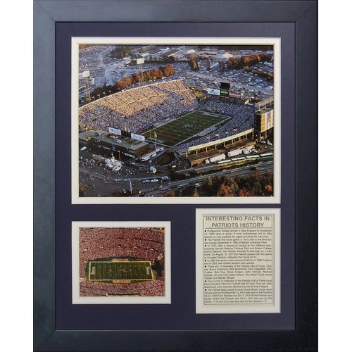 Legends Never Die New England Patriots Foxboro Stadium Framed Memorabili