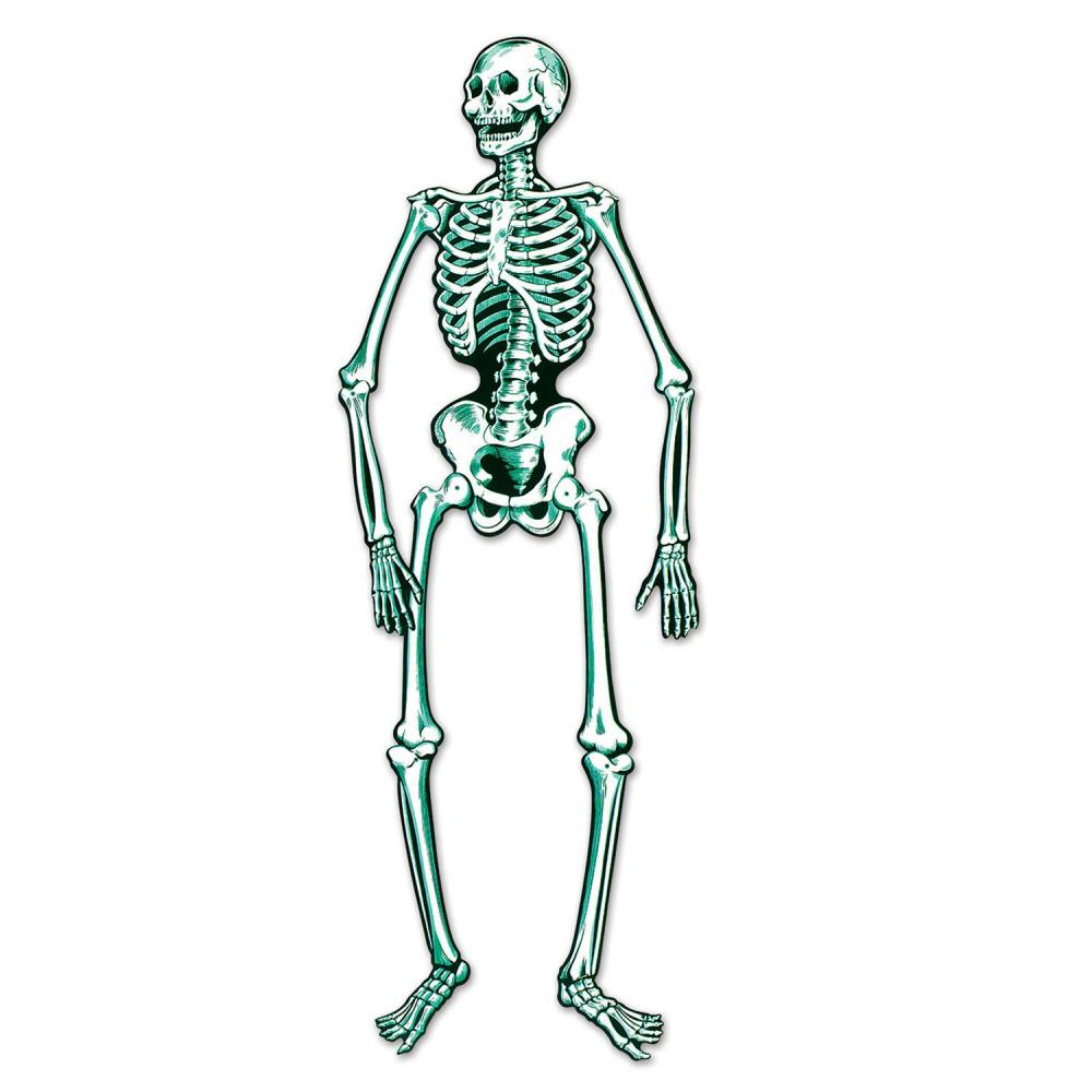 Beistle (12ct) Halloween Party Jointed Skeleton