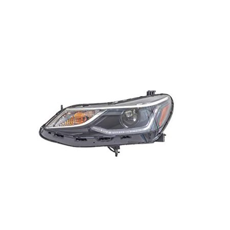 Headlight - Pacific Best Inc. For/Fit 17-19 Chevrolet Cruze-Hatchback Head Lamp Assembly Left Hand Driver;