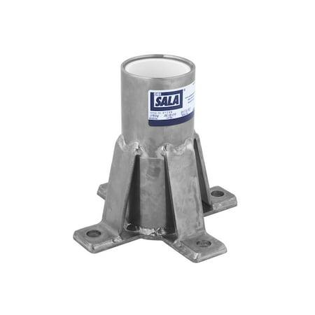 DBI SALA 8518347 Advanced™ Floor Mount Sleeve Davit Base Dbi Sala Ez Stop