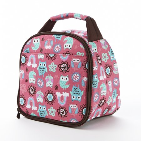 Fit & Fresh Gabby Insulated Lunch Bag (Rainbow Owl) 921KFF405