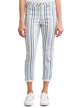 f6256ac30ad Product Image Preston High Rise Skinny Ankle Jean Women s (Striped)