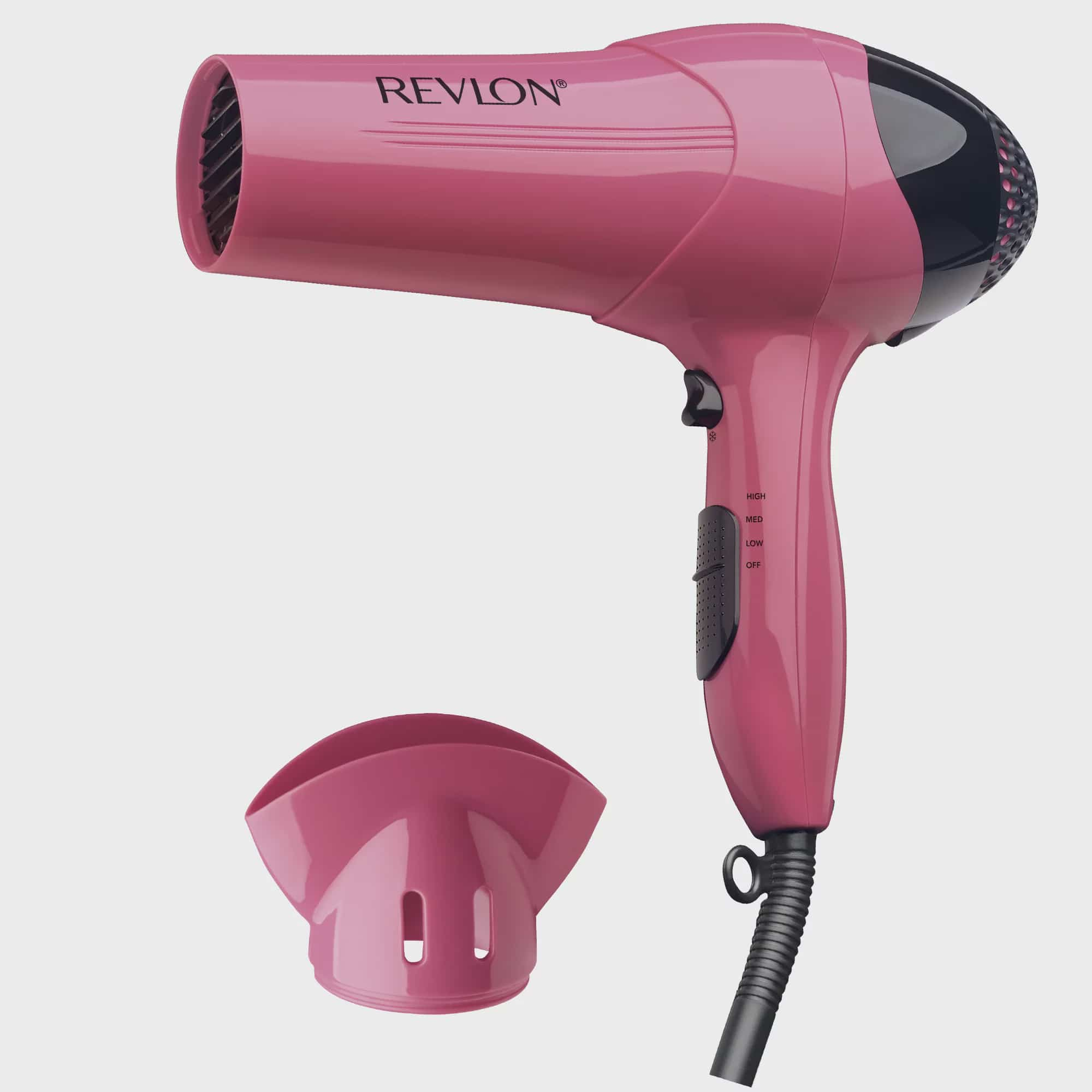Revlon Essentials Lightweight RV474 Light Hair Dryer, Pink