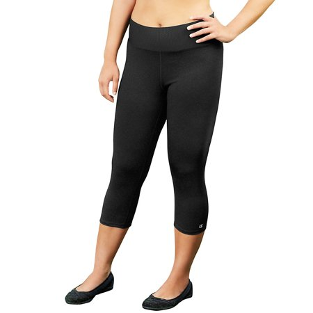 Champion Womens Capris - Champion Women's Plus Absolute Capris With SmoothTec Waistband - QM0979