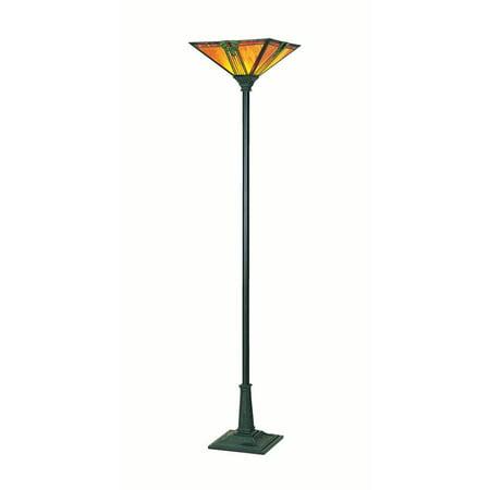 Lite Source Bronze Halogen Floor Lamp (Lite Source LS-9768 Maple Jewel Torchiere Lamps)