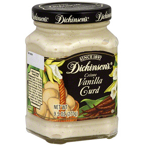 Dickinson's Vanilla Creme Curds, 9.5 oz (Pack of 6)