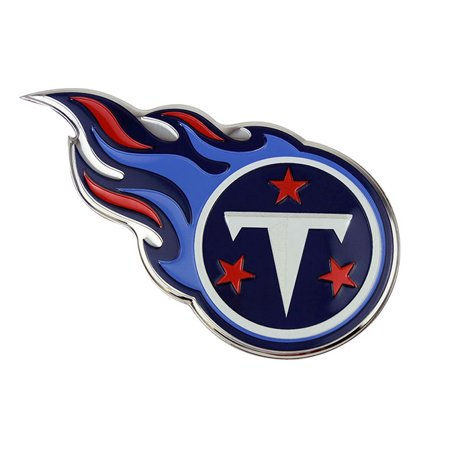 Tennessee Titans Metal (NFL Tennessee Titans Colored Emblem)