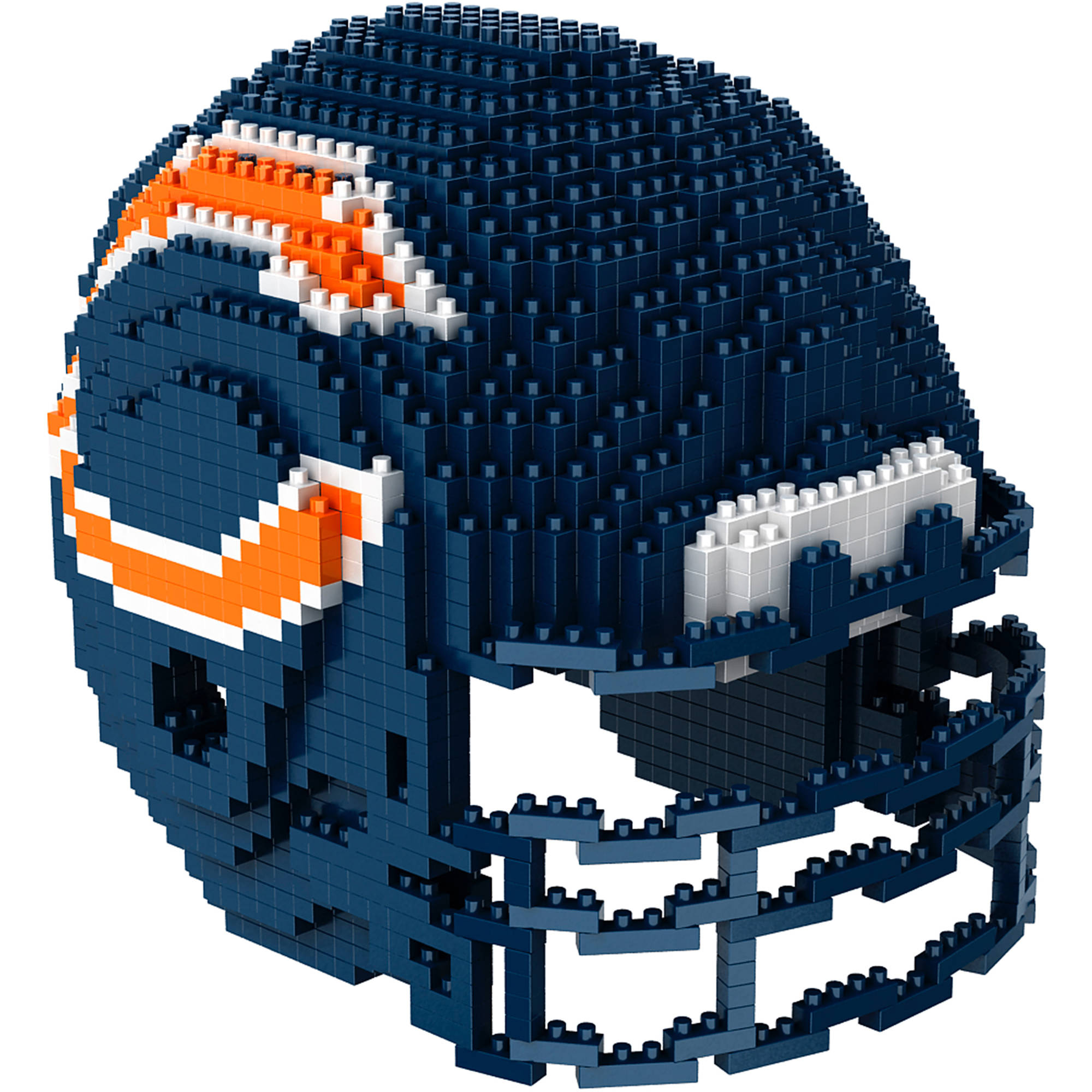 Forever Collectibles 3D BRXLZ Mini Helmet, Chicago Bears