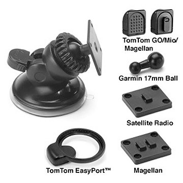 Bracketron Universal GPS Nav_Pro Mobile GPS Window Mount for TomTom, Magellan, Mio, Garmin GPS Devices and Satellite... by Bracketron_Personal %26 Portable