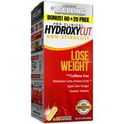 Hydroxycut Pro Clinical Caffeine Free Weight Loss Pills, 80 Ct Bonus