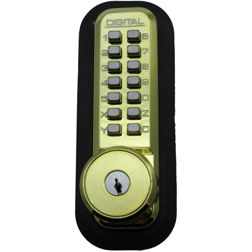Lockey 2210KO Panic Proof Key By-Pass Keyless Entry Deadbolt from the 2000 Series