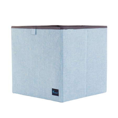 Foldable Fabric Storage Basket Cube Bin Organizer for Closet