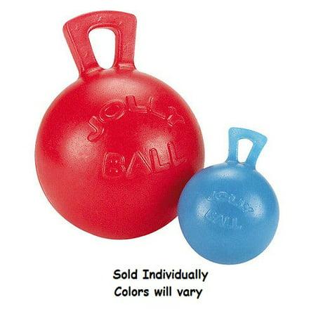 Soft Rubber Dog Toy Tug-N-Toss Jolly Ball Medium 6