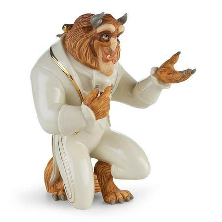 - Lenox Disneys Beast My Hand My Heart Figurine with Gold Accents