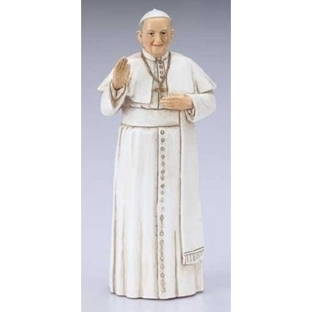 Religious Catholic Church Papacy Small Pope Francis Figurine (Small Figurines)