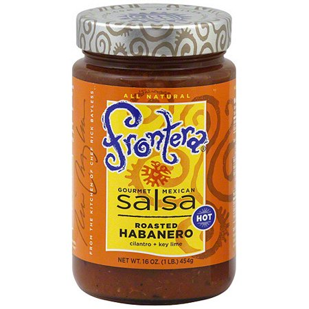 Frontera Gourmet Mexican Roasted Habanero Salsa, 16 oz (Pack of 6)