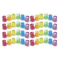 48 Mini Glitter Slime Jars - Sensory, Stress, Fidget Party Favor Squeeze Fidget Toy ADHD