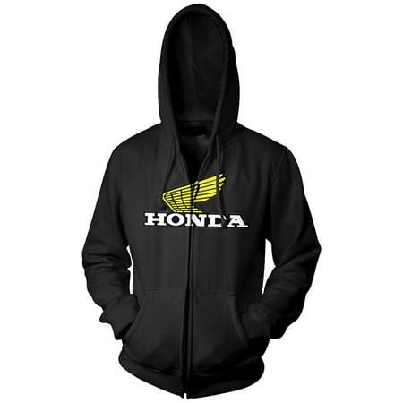- Honda Collection Corporate Wing Logo Zip Hoody