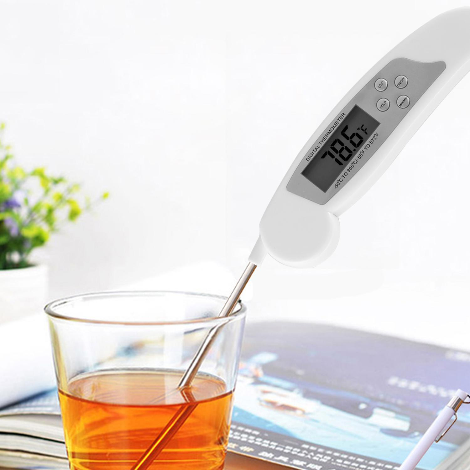 Outdoorstore Instant Read Digital Food Meat Thermometer for Cooking BBQ Grill Smoker OTST