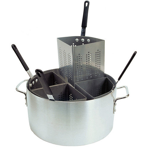Update International 20 Qt. Aluminum Fryer/Pasta Comb