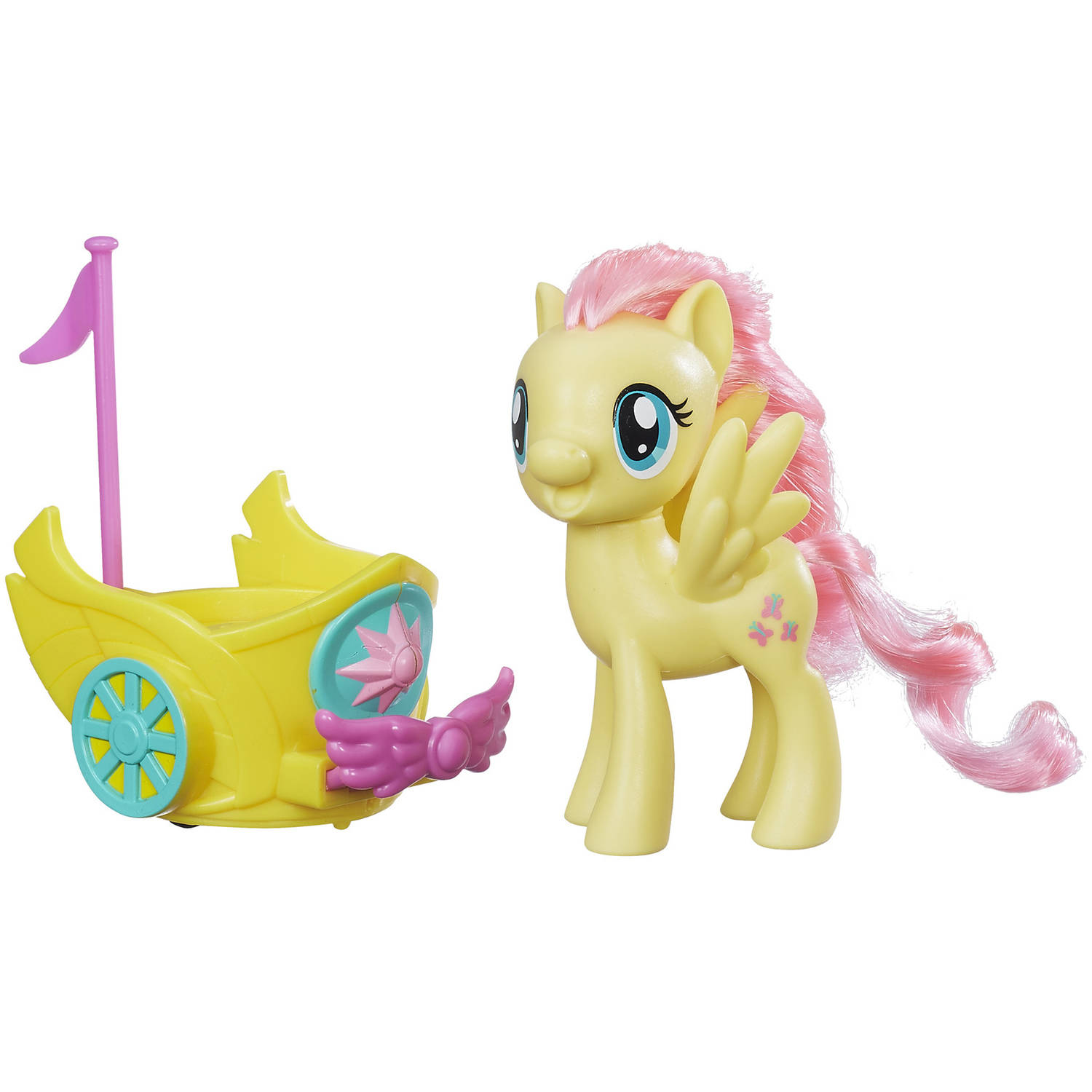 My Little Pony Fluttershy Royal Spin-Along Chariot by