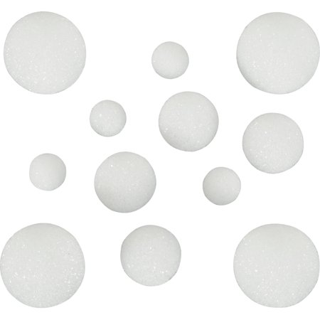 Make It Fun FloraCraft Styrofoam White Multi Ball, 1 Each](Bulk Styrofoam Balls)