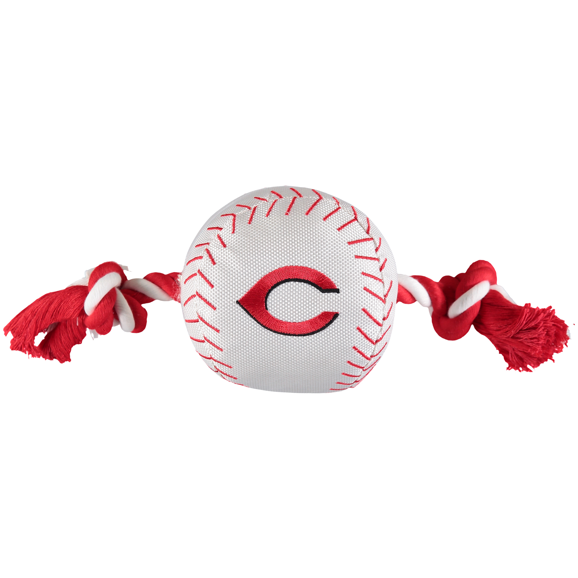 Cincinnati Reds Dog Baseball Rope Toy - No Size