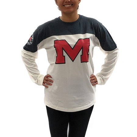 Ole Miss Party Supplies (OLE Miss Rebels Womens Shirt; Long Sleeve T - Shirt University Apparel)
