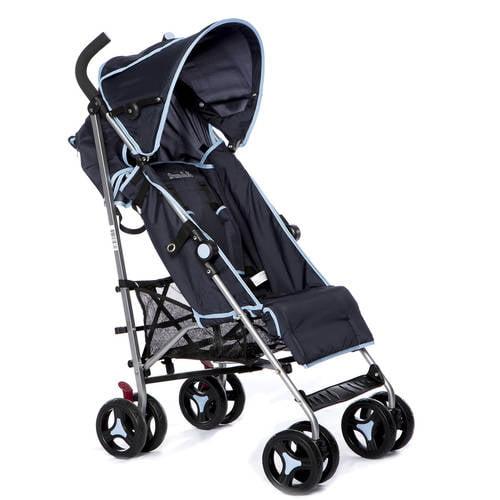 Dream on Me Verona Lightweight Stroller, Navy Blue by ONLINE