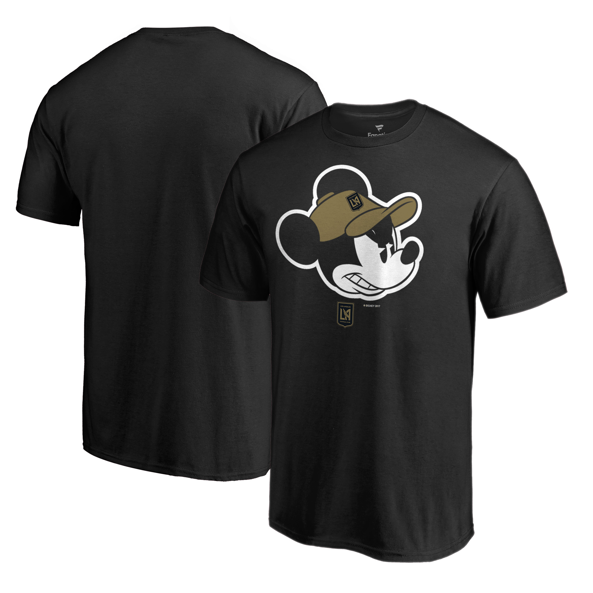 LAFC Fanatics Branded Disney Game Face T-Shirt - Black
