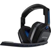 Astro A20 by Logitech Wireless Gaming Headset for PS4 / PC / MAC - Over Ear Headphones with Boom Microphone - Blue/Black - Renewed
