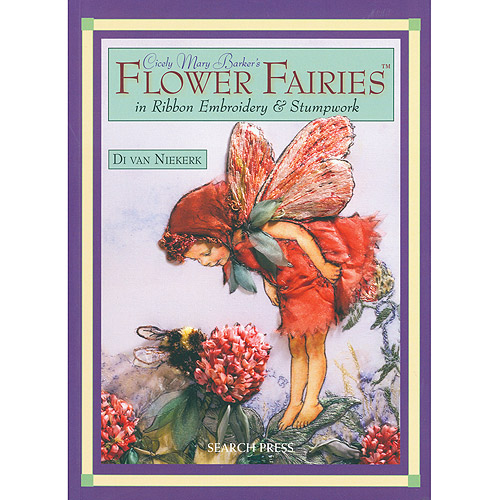 Search Press Books, Flower Fairies In Ribbon Embroidery