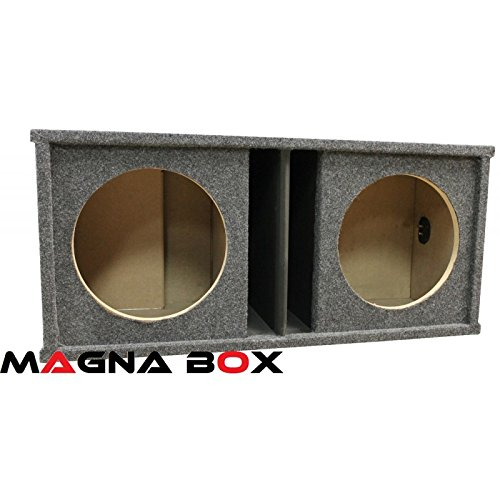 "Dual 12"" Subwoofer Universal Fit Vented Ported Subwoofer Enclosure - SPB-212SPL"