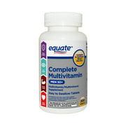 Equate Complete Multivitamin Tablets, Men 50+, 200 Ct