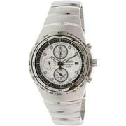 Seiko Men's SNAA81 Silver Stainless-Steel Quartz Watch