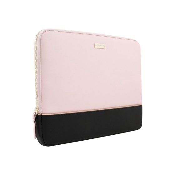 outlet store 86d8f a7494 kate spade new york laptop sleeve black/gold/rose quartz 13