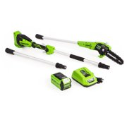 Greenworks 8-Inch 40V Cordless Pole Saw, 2Ah Battery and Charger Included 1403702