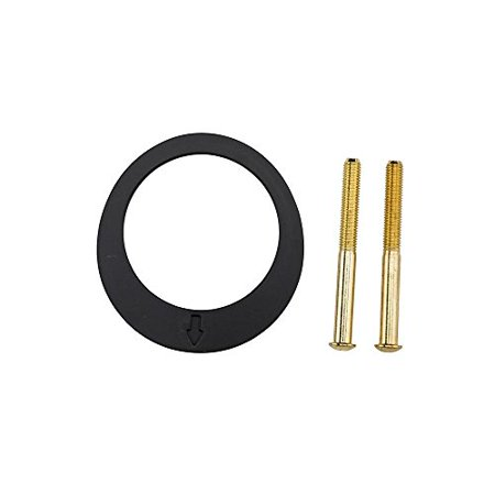 1-3/8 in. Polished Brass Key Control Thin Door Adapter Kit ()