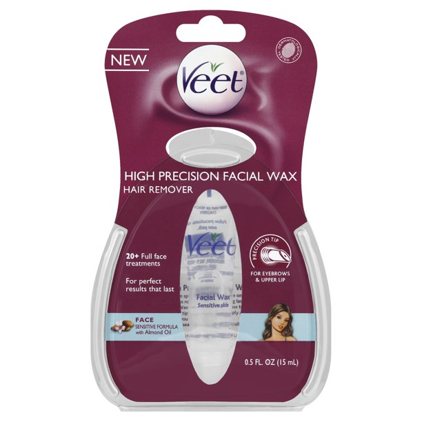 Veet High Precision Facial Wax Hair Remover 0 5 Ounce Walmart