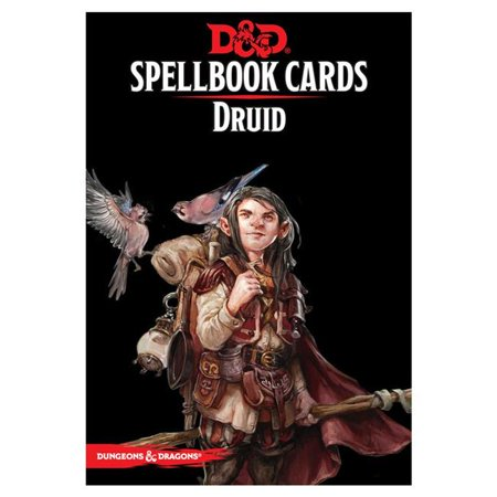 Dungeons & Dragons: Spell Book Cards: Druid Deck Card Game (8 (Best Field Spell Cards)