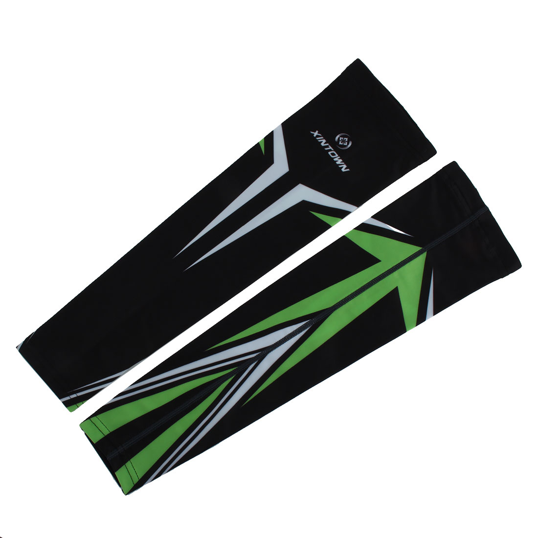 XINTOWN Authorized Unisex Outdoor Sports Cycling Football UV Protection Arm Sleeves Cover Warmer Pair #10 M by