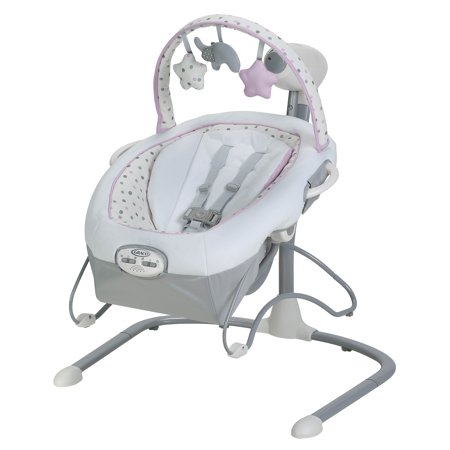 Graco Duet Sway LX Baby Swing with Portable Bouncer,