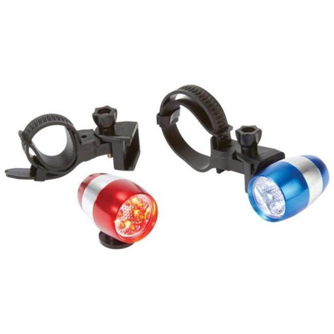 Mitaki-Japan SPELED2 Mitaki-japan 2pc Led Aluminum Bicycle Light Set- 2pc