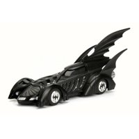 1995 Batman Forever Batmobile, Black - Jada 98717 - 1/32 Scale Diecast Model Toy Car
