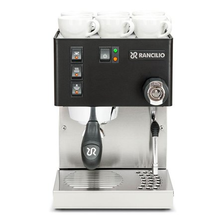 Rancilio Silvia M V5 Espresso Machine - Stainless Steel (Black) (Machine Rancilio)
