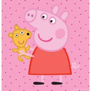 """Marmont Hill """"Peppa and Her Puppy"""" Peppa Pig Painting Print on Canvas"""