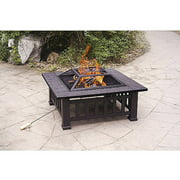 """Axxonn 32"""" Alhambra Fire Pit with Cover"""