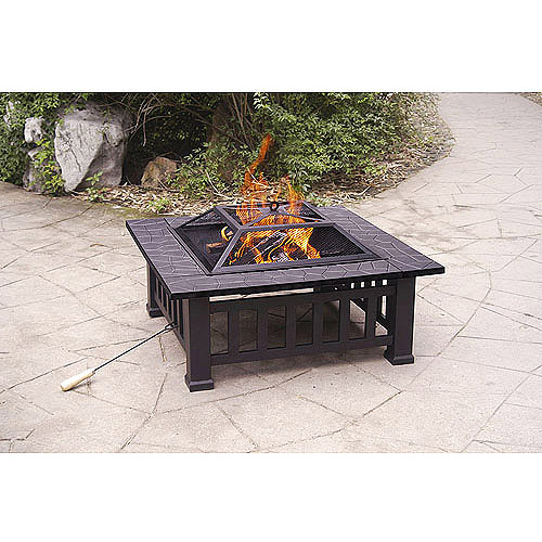 Axxonn 32 Alhambra Fire Pit with Cover