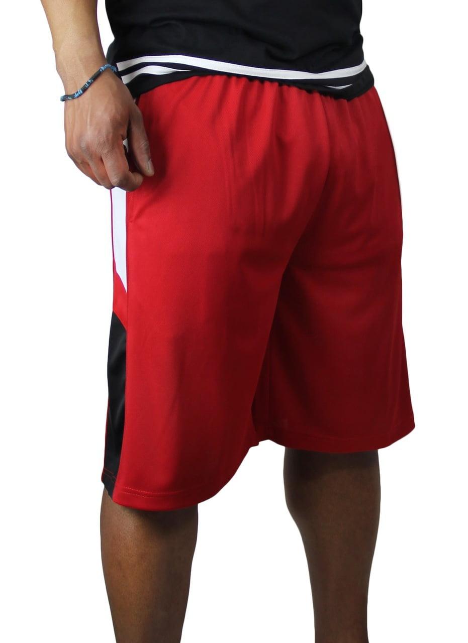 Big and Tall Men's Mesh Shorts MS-001BM